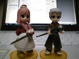 トレーディングフィギュア まーちゃん&プリ様
